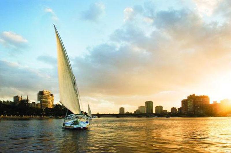 رحلة بحرية في النيل