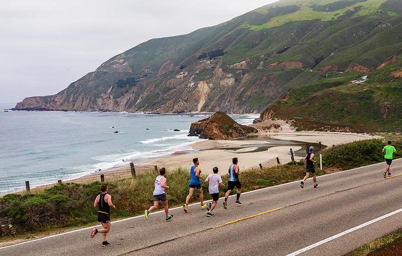 Big Sur International Marathon, California, USA