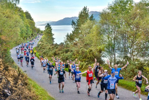 Loch Ness Marathon, Scotland