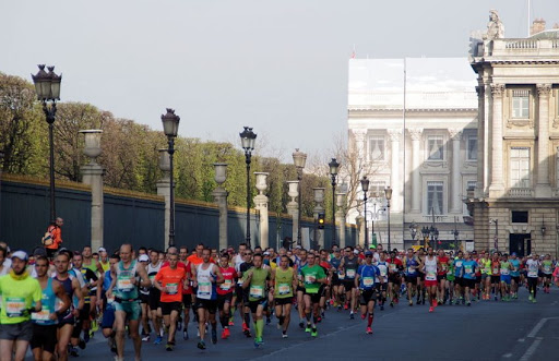 Paris Marathon, France