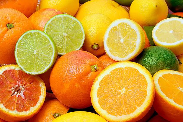 الفواكه الحمضيه