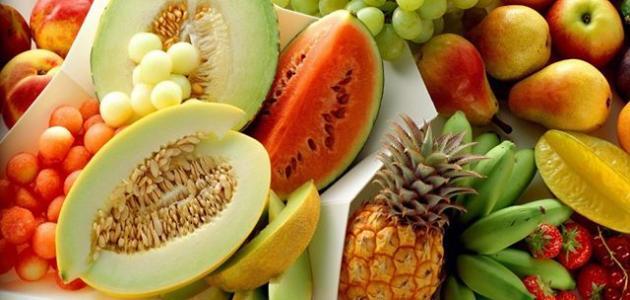 الفواكه الطازجه