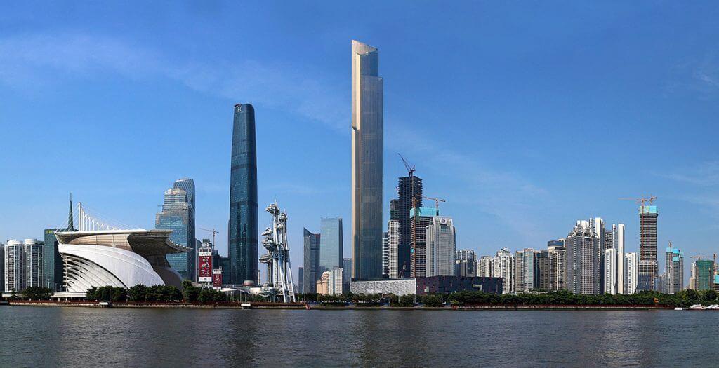 مركز غوانزو سي تي إف المالي