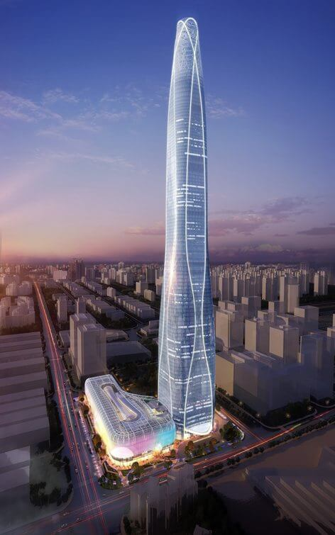 مركز تيانجين تشاو تاي فوك بينهاي المركز المالي