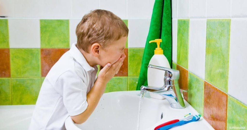 تعليم الاطفال النظافة
