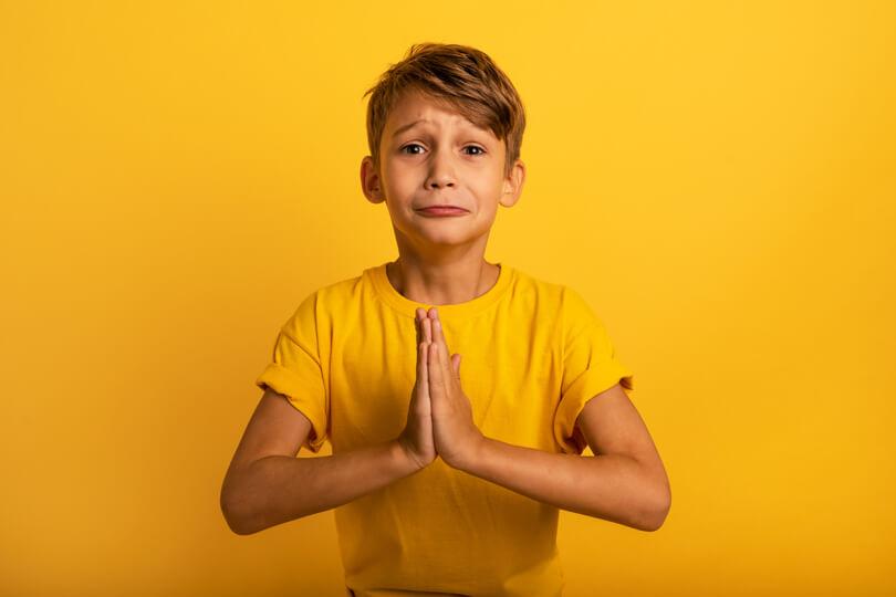 تعليم الاطفال لغة الاعتذار