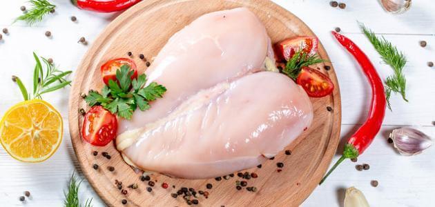 صدر دجاج