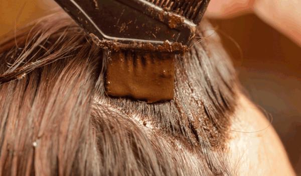 الماركه لصبغ الشعر