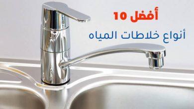 أفضل 10 أنواع خلاطات المياه