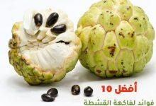 أفضل 10 فوائد لفاكهة القشطة