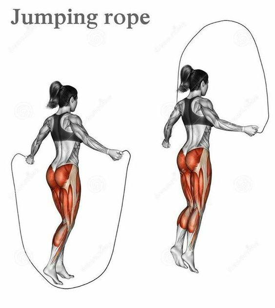تمرين Jumping rope
