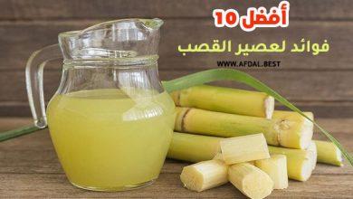 أفضل 10 فوائد لعصير القصب
