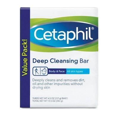 Cetaphil Deep Cleansing Facial Bar