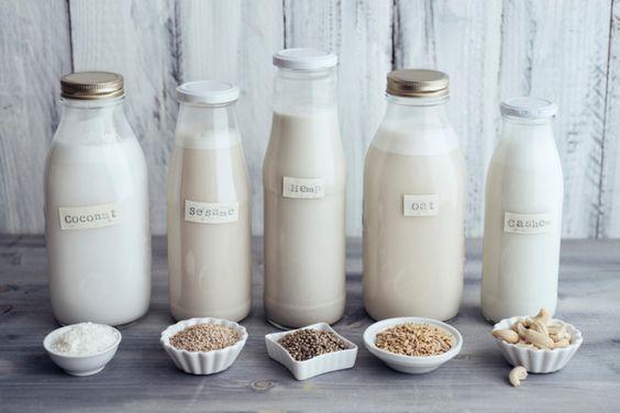 الحليب النباتي