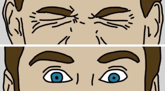 تمرين تحديق العين