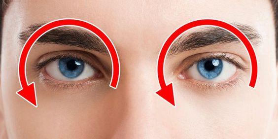 تمرين دوران العين