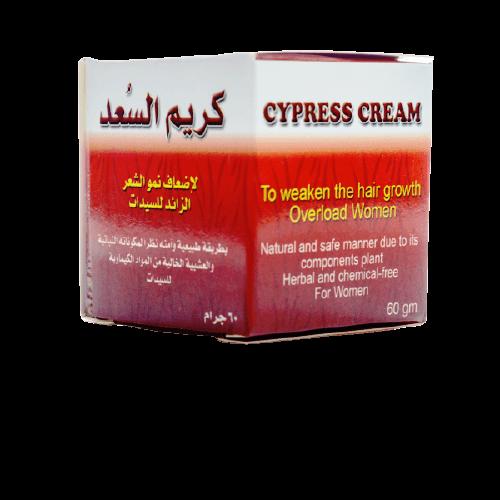 كريم السعد من أفضل 10 أنواع كريم لتأخير نمو الشعر