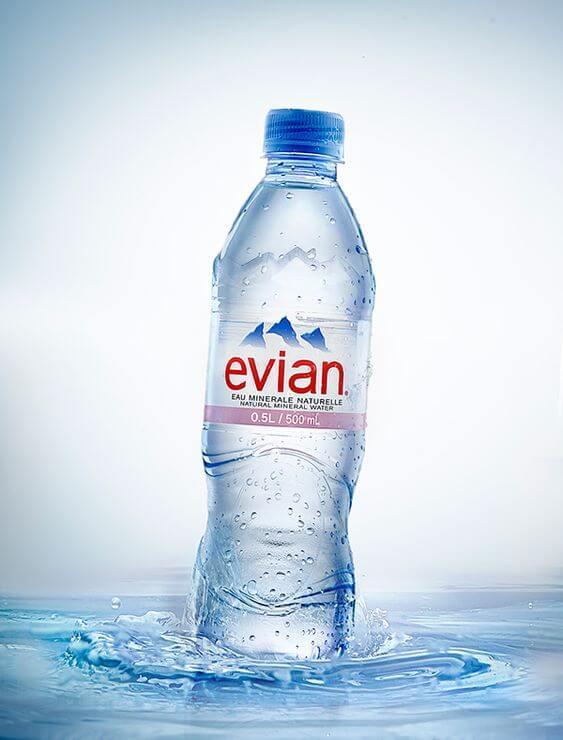 مياه ايفيان من أفضل 10 أنواع المياه المعدنية